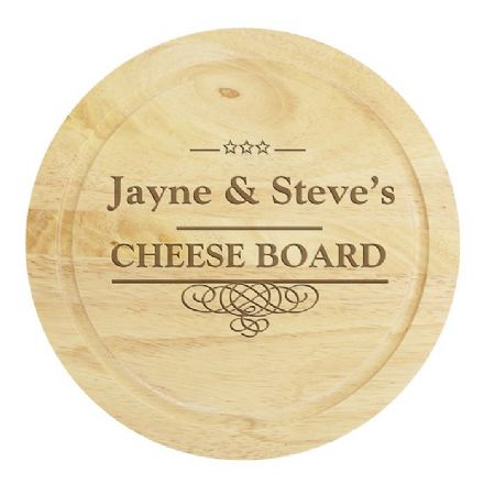 Large Cheese Board with Cheese Knives